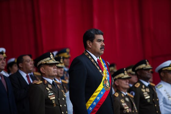 Venezuela's Maduro Suspect in Probe as U.S. Keeps Pressure On