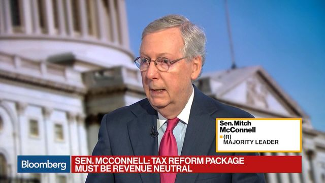 Mitch McConnell Would Like 'A Little Less Drama' from the White House