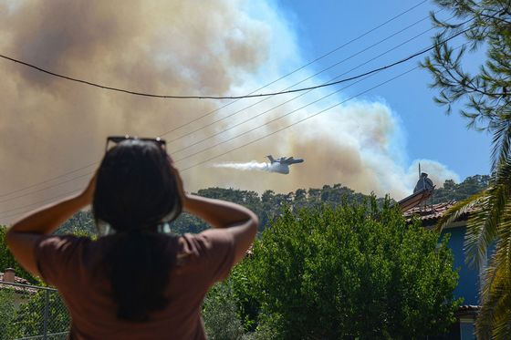 Grounded Firefighting Aircraft Haunt Erdogan as Blazes Rage