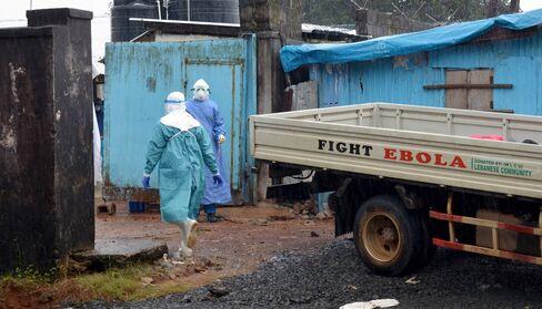 Ebola Treatment Center in Liberia