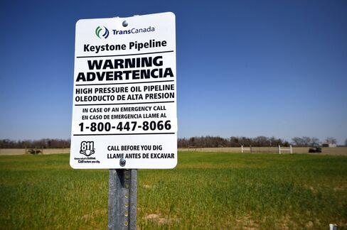 Keystone XL Pipeline Valve Station