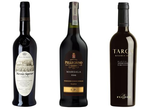 Marsalas from Marco de Bartoli, Carlo Pellegrino, and Cantine Florio