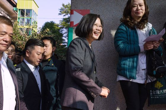 Tsai Looks Set for Landslide Win in Taiwan Presidential Vote