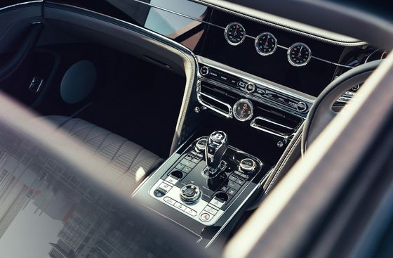 For the Posh, Bentley's New Flying Spur Is Practically Pious