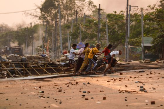 Myanmar Imposes Martial Law After Chinese Factories Set Ablaze