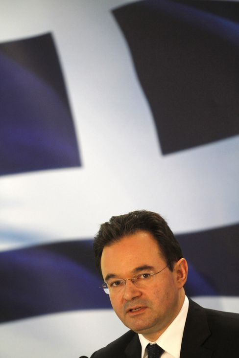Greece's Finance Minister George Papaconstantinou