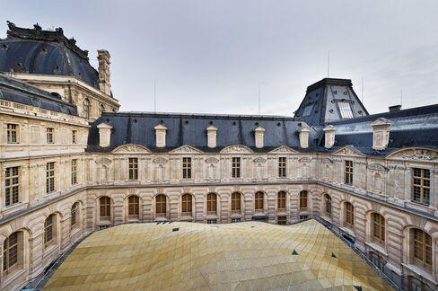 Louvre Islamic Art Glass Roof