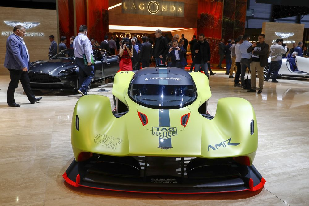 Aston Martin S Valkyrie Has A Lot Riding On Her Bloomberg