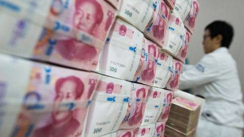 Images of Chinese Yuan Banknotes As 50% of China Market Now Halted
