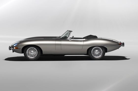 Here's When You'll See Jaguar's Epic Electric E-Type on the Road