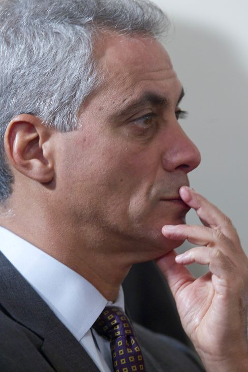 Former White House Chief of Staff Rahm Emanuel