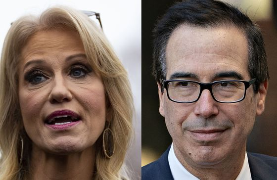 Trump Floats Mulvaney Replacements Including Mnuchin and Conway