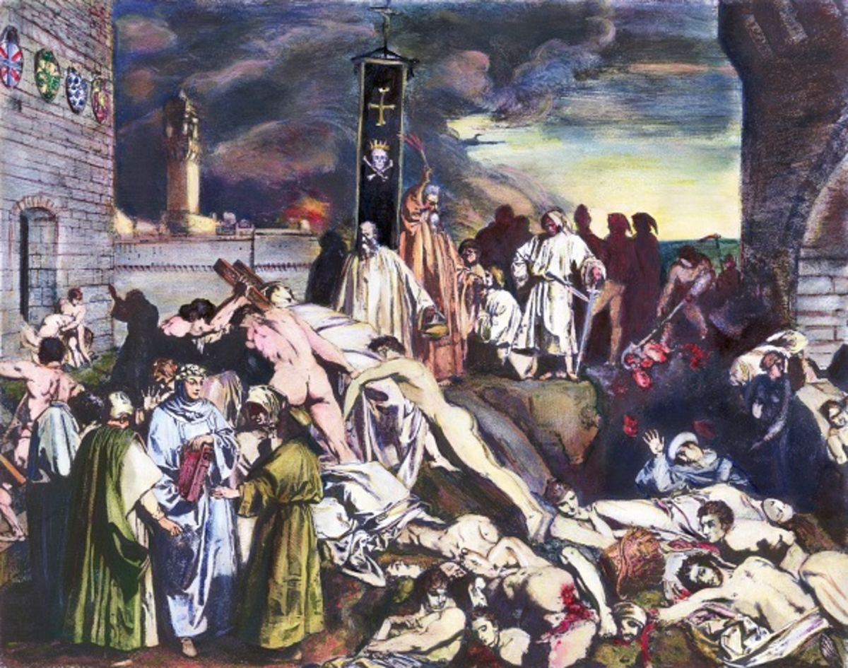 Black Death Makes Us Think About Interest Rates