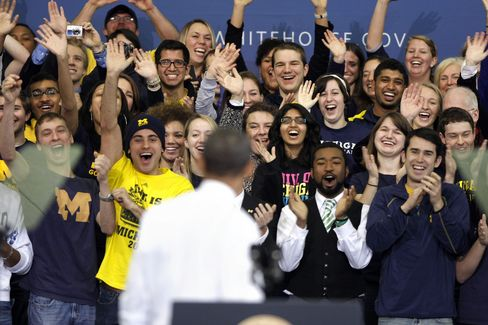 Obama Speaks at University of Michigan