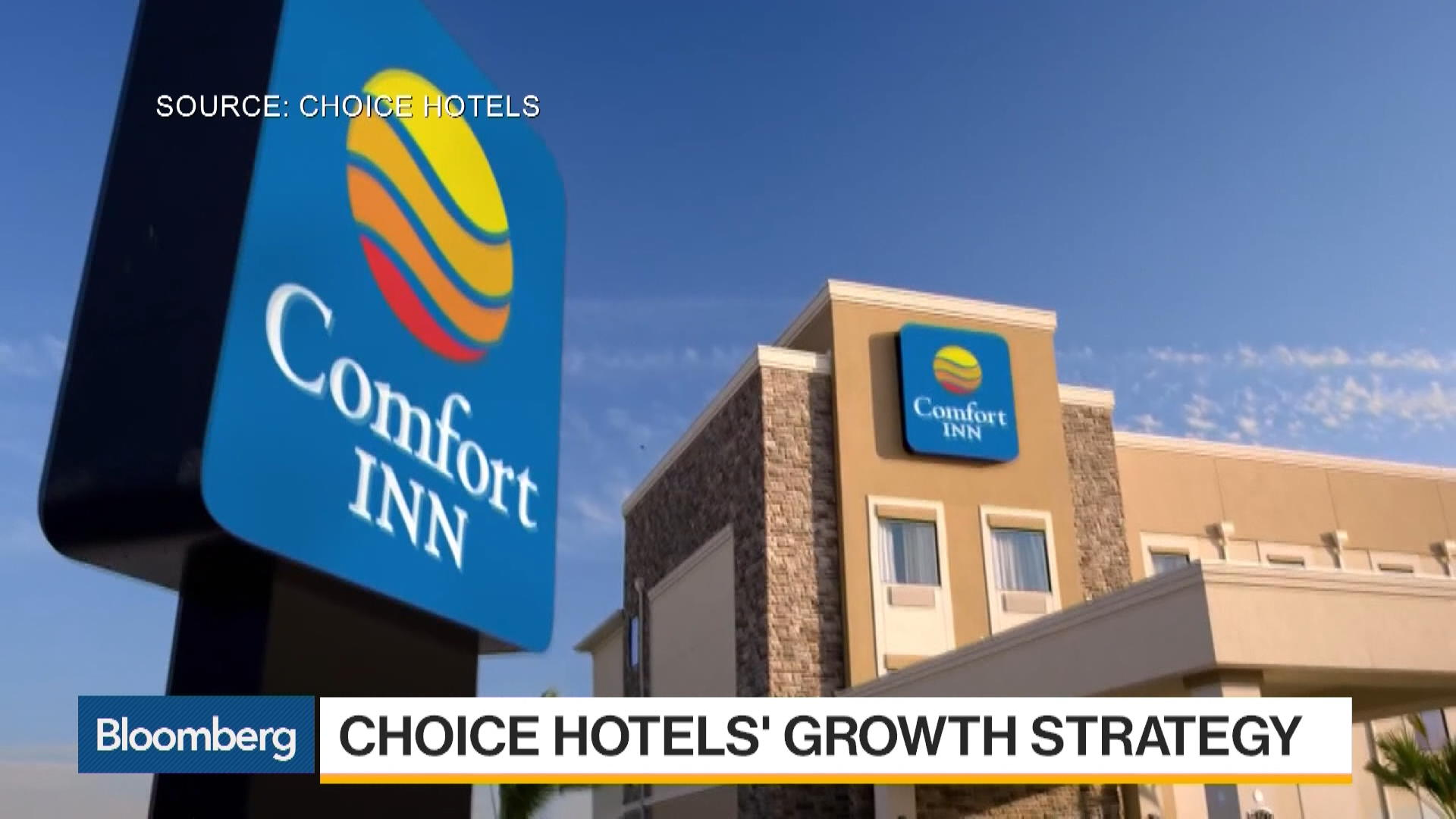 Choice hotels ceo we 39 re a buyer not a seller bloomberg for Choice hotels