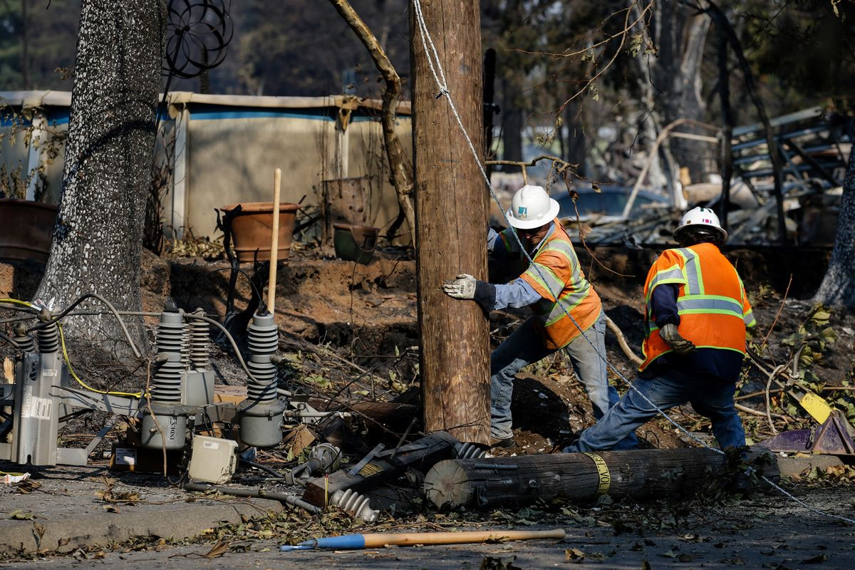 PG&E Plunges on Fear of Total Wipeout by New Bankruptcy Plan