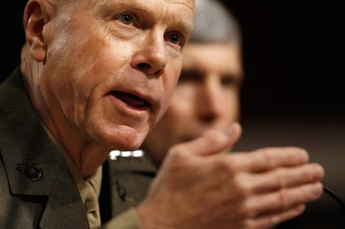 U.S. Military Chiefs Urge Caution on Ending Gay Ban