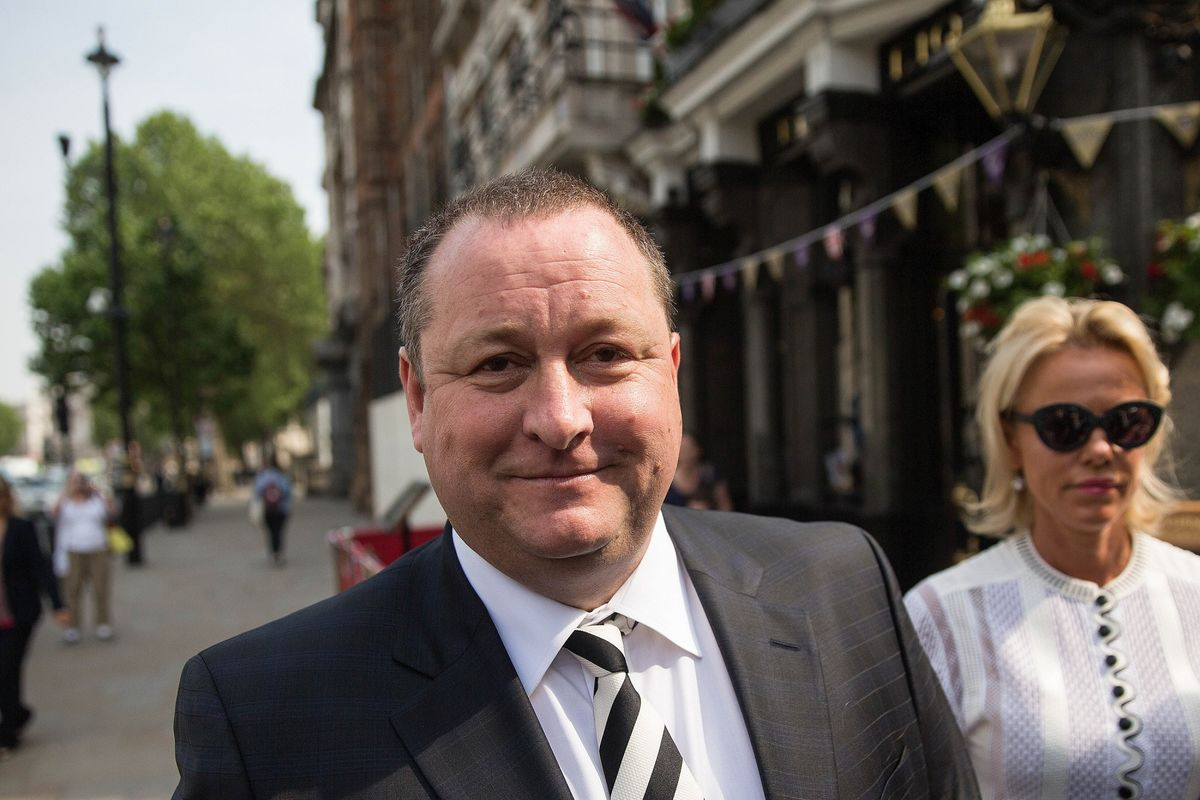 Sports Direct Billionaire Mike Ashley Spins Out of Control