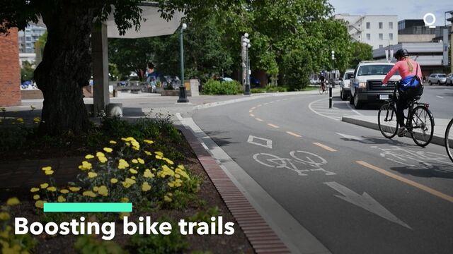Boosting Bike Trails