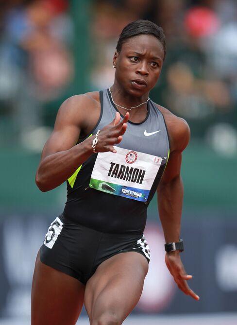 Jeneba Tarmoh Backs Out of 100-Meter Runoff With Felix