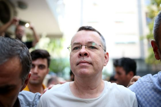 Pompeo `Hopeful' Turkey Will Release U.S. Pastor in Coming Days
