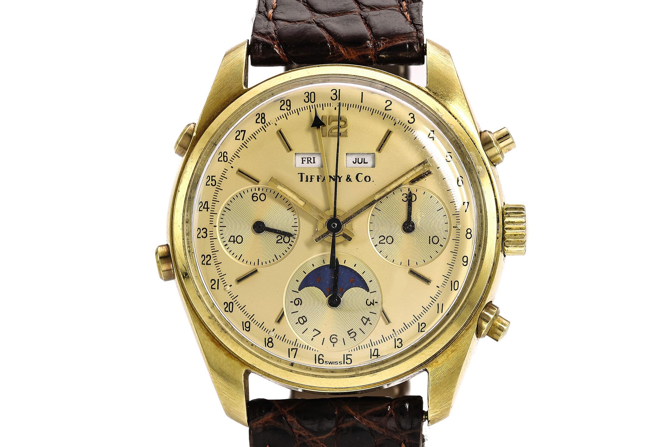 Tiffany & Co. Triple Calendar Chronograph (Lot )