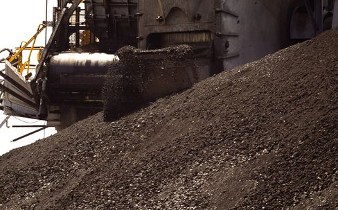Coal Slump Seen Ending on Deal at Four-Year Low