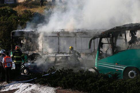 israel bus explosion