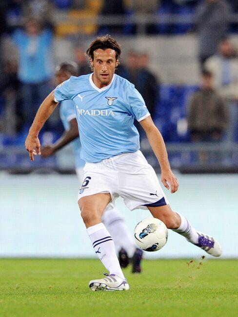 Lazio Midfielder Stefano Mauri
