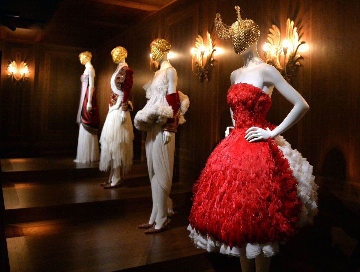 fa88a189a7b4 Here s What s New at the Alexander McQueen Savage Beauty Exhibition ...
