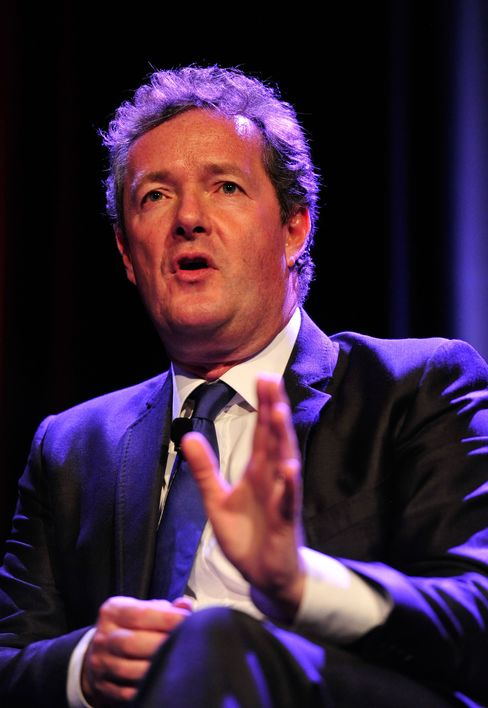 Former Daily Mirror Editor Piers Morgan