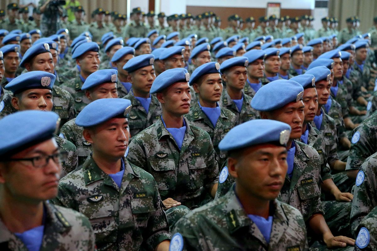 China Bolsters South Sudan UN Peace Mission With More Troops