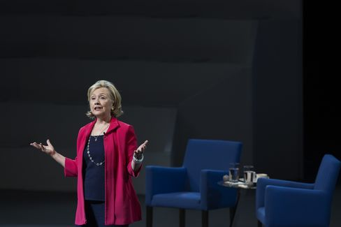Hillary Clinton in Mexico City, September 5 2014
