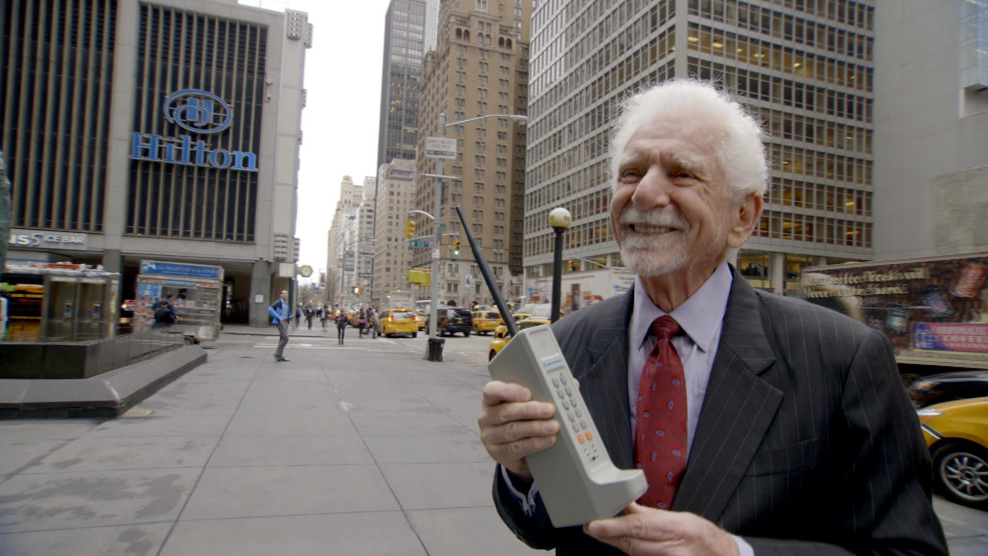 The Story Behind the First Cell Phone Call Ever Made