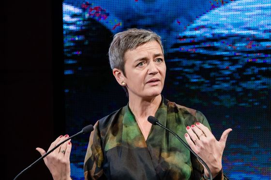 EU's Vestager Defends Dual Role as Antitrust and Tech Chief