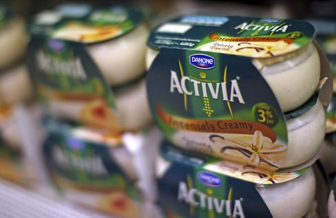 Danone Cuts Profitability Goal on Southern Europe, Costs