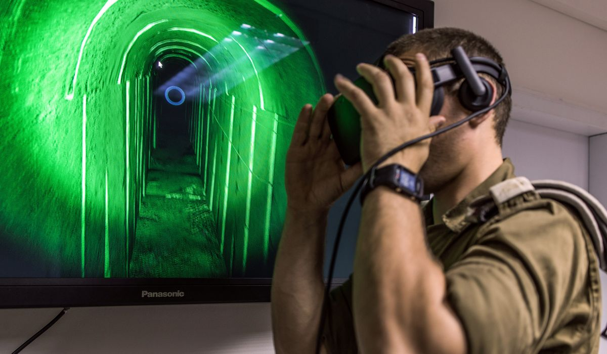 Oculus and Vive Headsets Are Taking Israel's Army Underground