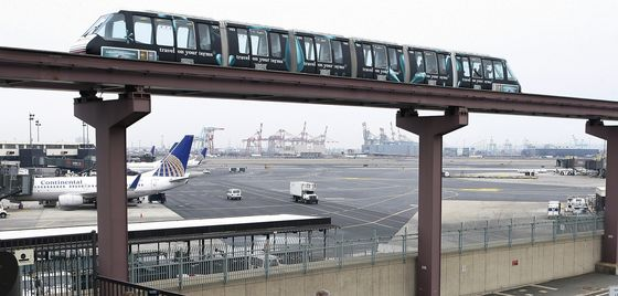 Governor Says $2.1 Billion Needed for Newark Airport's Monorail