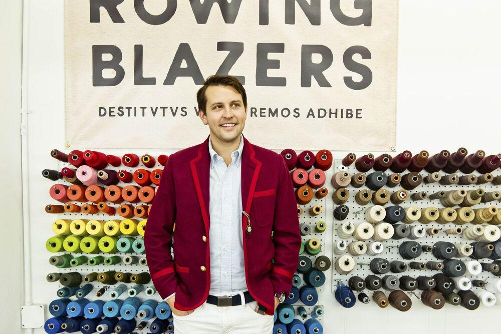 88af4b46d Rowing Blazers Is Reinventing the Preppy Sport Coat - Bloomberg