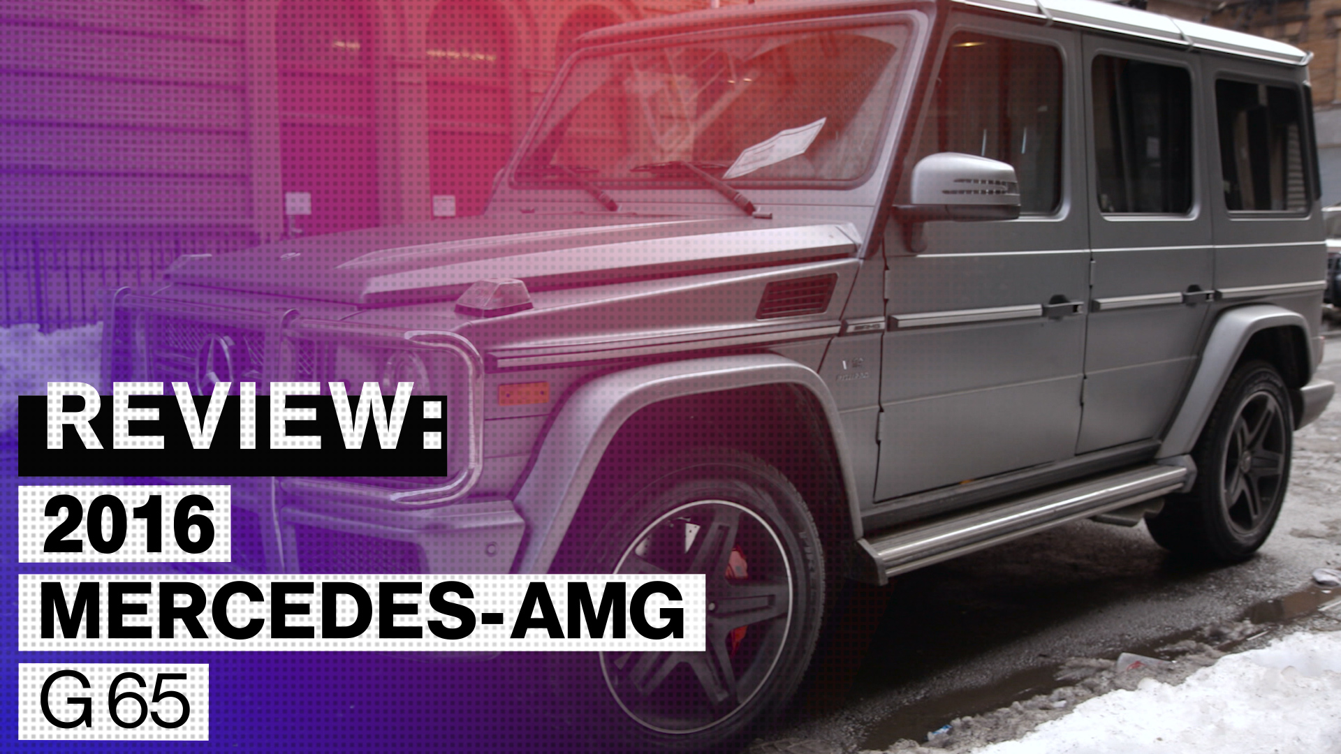 2016 Mercedes-Benz G65 AMG Review: A $200,000 Way to Brag ...