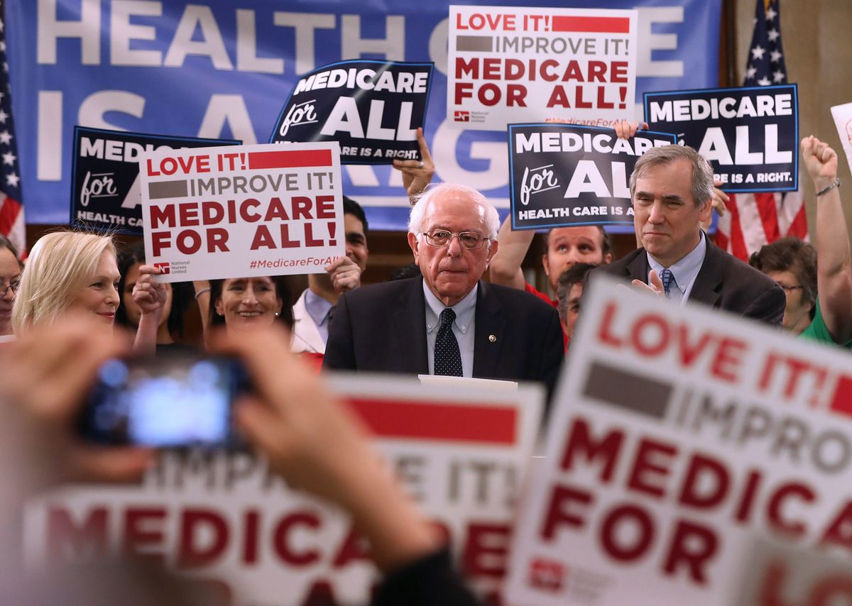 Democratic 2020 Candidates Inch Away From Medicare for All