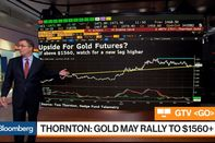 relates to Gold May Rally Above $1,560, Hedge Fund Telemetry's Thornton Says