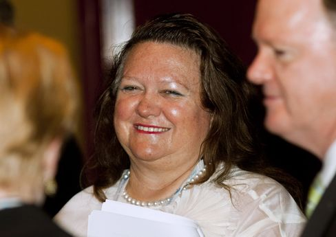 Hancock Prospecting Chairman Gina Rinehart