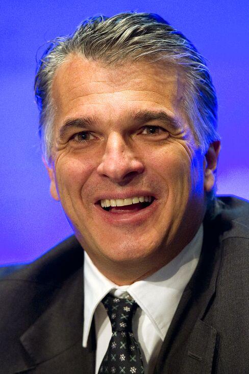 UBS AG CEO Sergio Ermotti