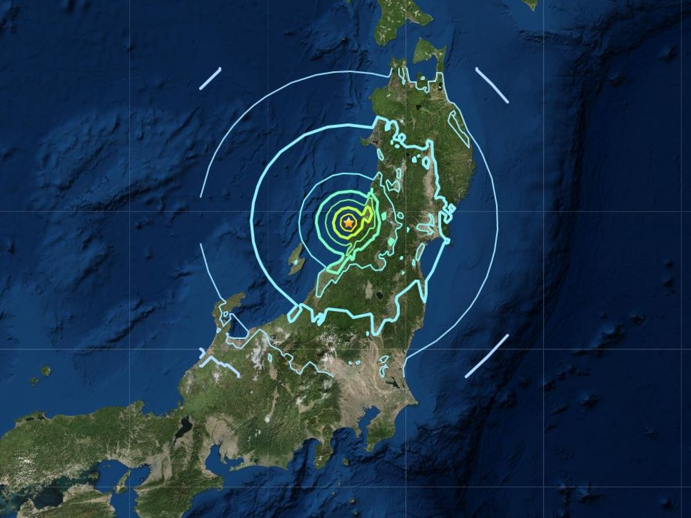 Magnitude 6.8 Quake Hits Off Japan, Tsunami Advisory Issued