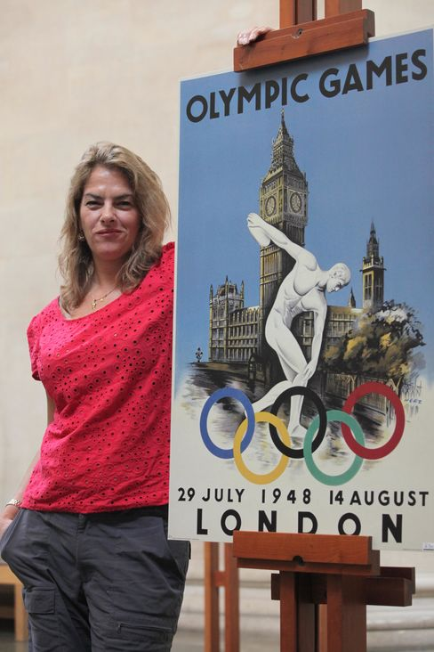 Tracey Emin and 1948 Olympics Poster