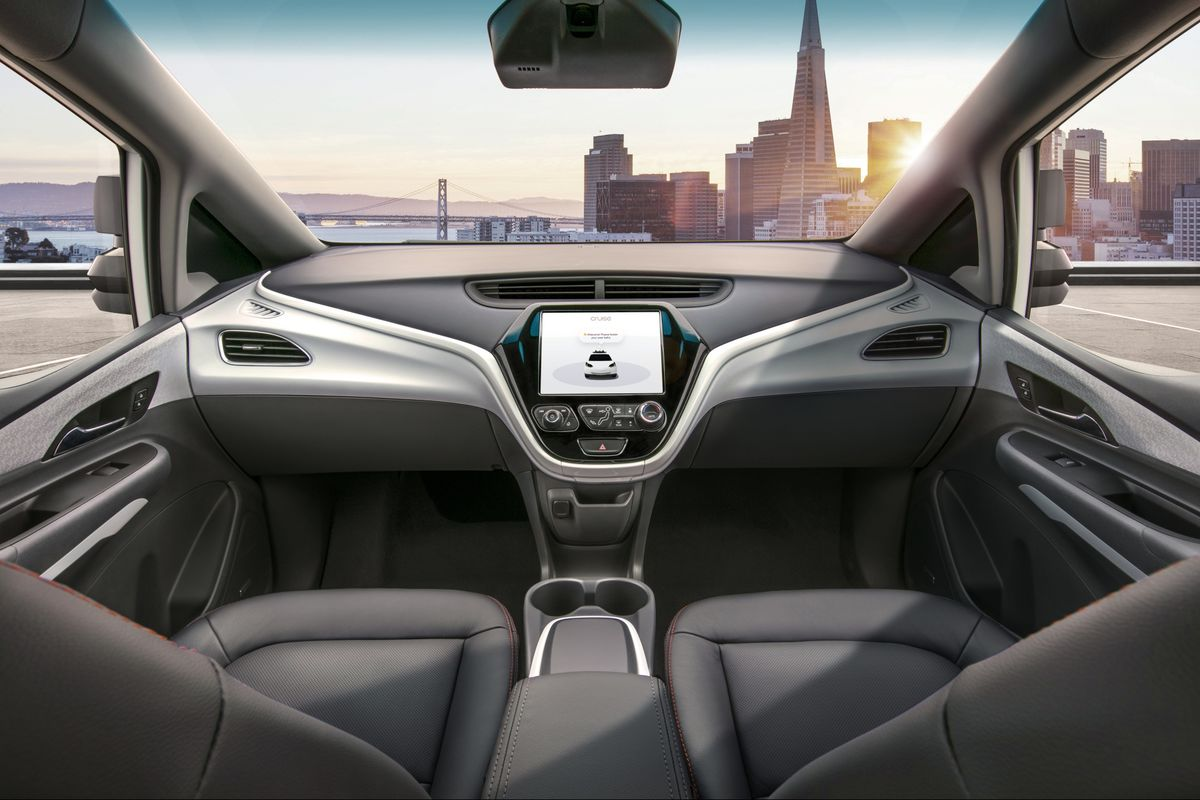 GM Drops the Steering Wheel and Gives the Robot Driver Control