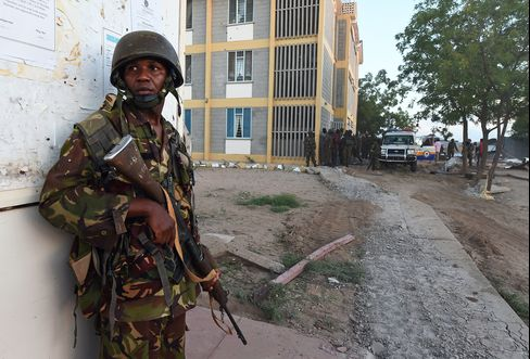 A Member Of The Kenyan Defence Forces