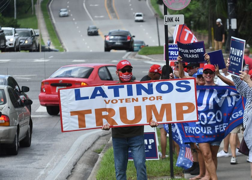 Mike Pence Rallies Latinos For Trump In Orlando, Florida