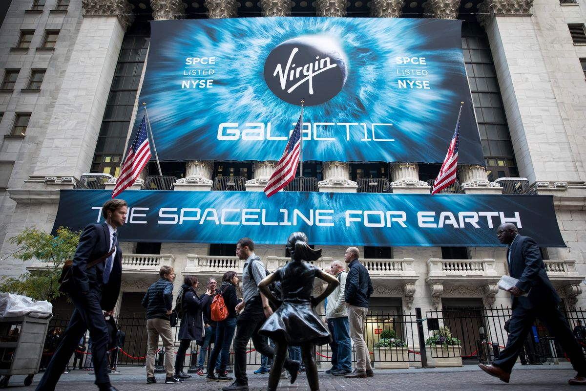 Virgin Galactic Soars as Investor Interest Rivals Tesla